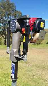 Petrol steel post driver Glendon Brook Singleton Area Preview
