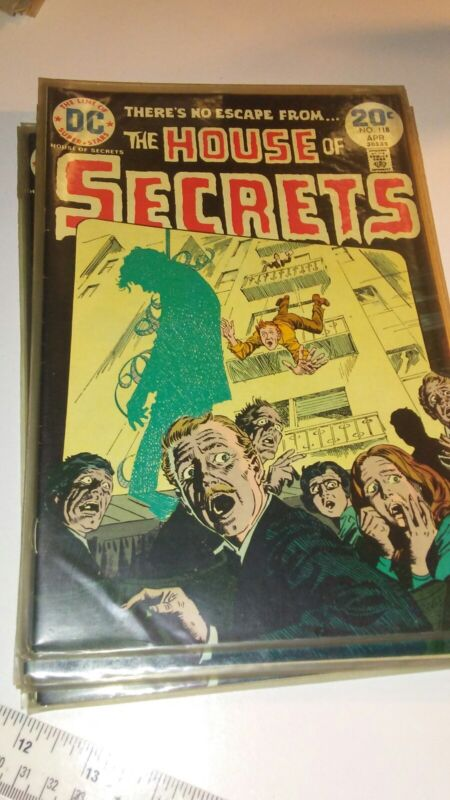 1974 DC HORROR COMIC BOOK THE HOUSE OF SECRETS 118 NM CONDITION