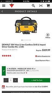 Selling Dewalt Drill and Drive Barely Used