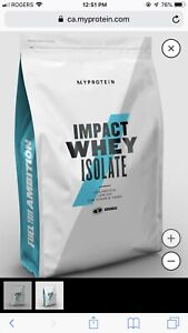 MyProtein Impact Whey Isolate- Chocolate Mint
