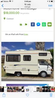 Camper Van / Motorhome Winnebago