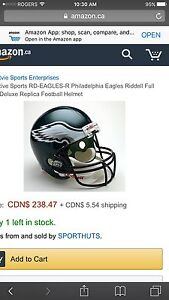 ~~~Philadelphia eagles helmet new ~~~