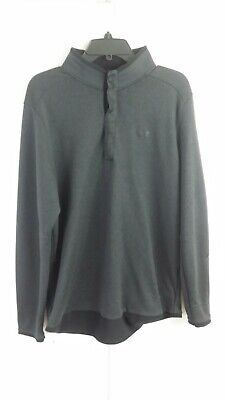 ⛳ Under Armour Golf Cold Gear Loose Fit Sweater Mens XL Gray Black