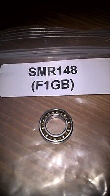 BEARING SMR148 OPEN RADIAL ROLLER BEARING, UNSHILDED SIZES# 8mmx14mmx3.5mm.