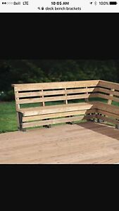 4 deck bench brackets