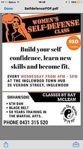 Self Defence  classes for women Inglewood Loddon Area Preview