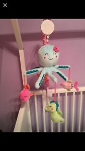 Under the sea nursery crib mobile