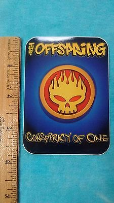 Offspring Conspiracy of One 2.75 x 3.75 Inch Sticker