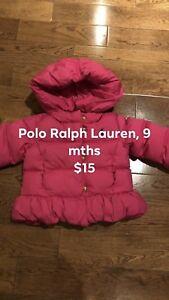 Polo Ralph Lauren Coat, 9 months