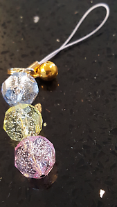 Phone - Keyring Pastel Charm with Gold Bell from Japan Canberra City North Canberra Preview