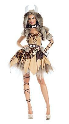 Prehistoric Honey Cavewoman Adult Womens Costume NEW Caveman - Cavewoman Costumes