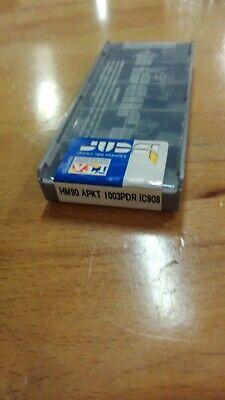 Iscar Hm90 Apkt 1003pdr Ic 908 Carbide Inserts 10 Pcs New