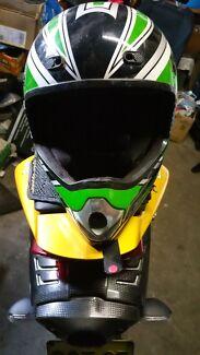 Helmet Nitro Racing Full Face Fibreglass Aust Stafety Standards Botany Botany Bay Area Preview