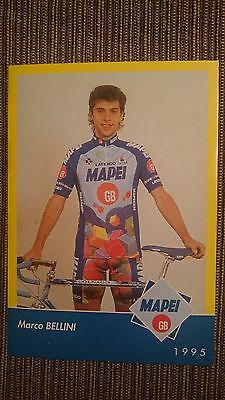 AK o.AG Marco Bellini Team Mapei 1995 Rarität