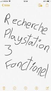 Recherche ps3 / playstation 3