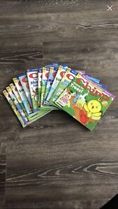 12 used chirp magazines for kids