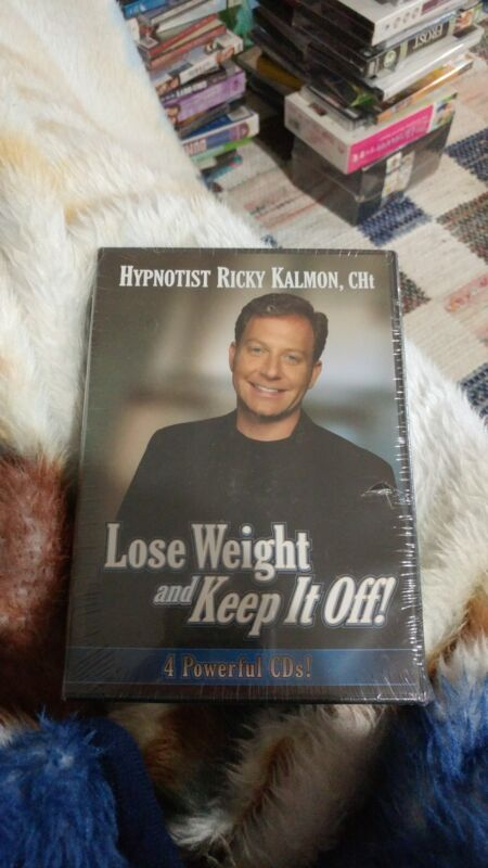 Hypnotist RICKY KALMON - Lose Weight And Keep It Off - 4 CD Set BRAND NEW