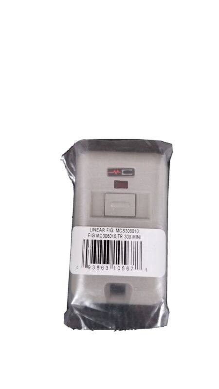 Linear MCS306010 MultiCode 1-Channel Key Ring Remote Control Transmitter (1qty)