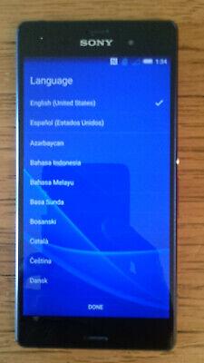 Sony Xperia Z3 D6616 - 32GB - Black (T-Mobile, Family Mobile) Smartphone 4G LTE