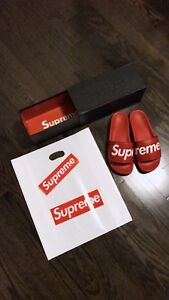 Supreme Classic Red Sliders
