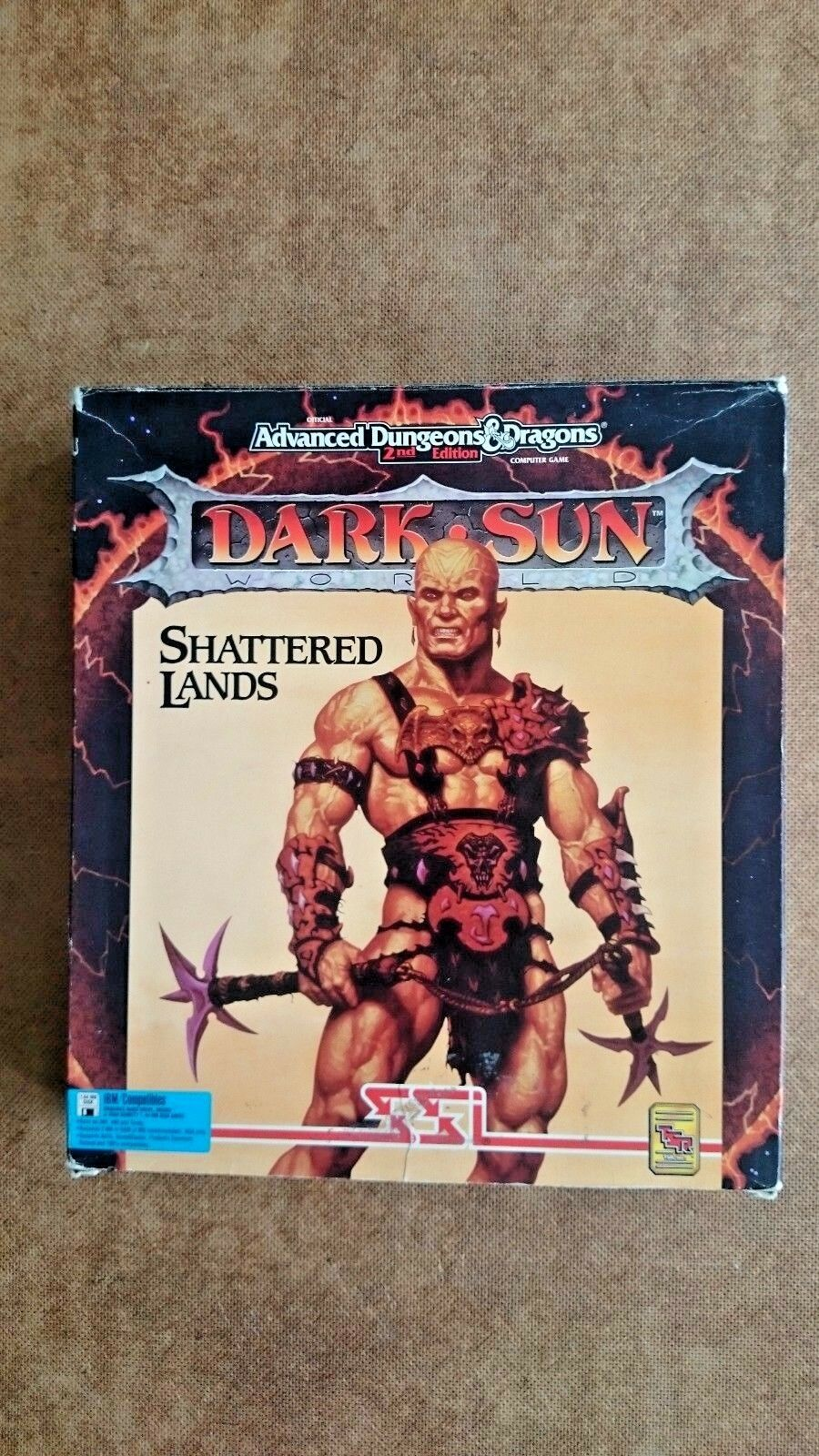 Dark Sun Shattered Lands  (PC Windows 1993) - Big Box Edition