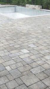 Permacon pavers interlock patio stone