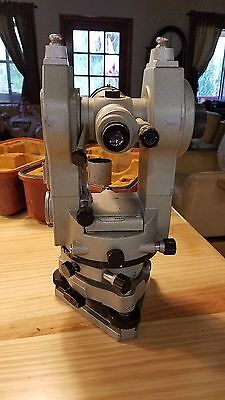 Lietz Sokkisha Tm6 Transit Theodolite With Case