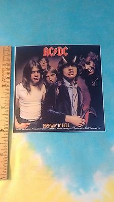 AC/DC Highway To Hell 4 x 4 Inch Sticker