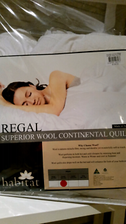 Wool Quilt, New. Double size.