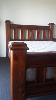QUEEN SIZE BED and PILLOWTOP MATTRESS  Mandurah Mandurah Area Preview