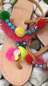 Pompom shell sandals Bonogin Gold Coast South Preview