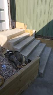 Concrete and excavation