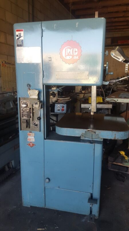 Grob Vertical Band Saw WITH BLADE WELDER