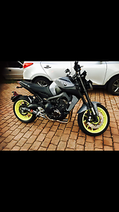 YAMAHA MTO9 BRAND NEW FOR SALE WITH AKRAPOVIC EXHAUST SYSTEM Stafford Heights Brisbane North West Preview