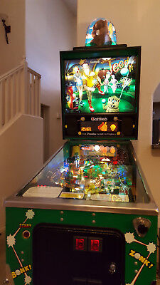 Tee'd Off Pinball Machine Excellent Condition GOLF CADDYSHACK PIN 1993 Gottlieb