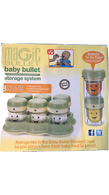 Magic Bullet Baby Bullet Storage System