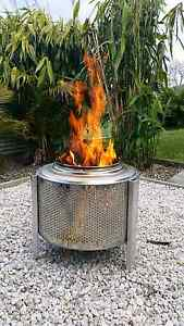 Fire Drums (Stainless Steel) Greenwell Point Shoalhaven Area Preview