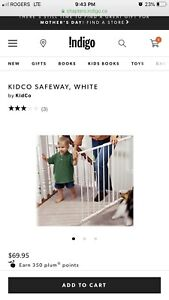 Kidco wall mount baby gate