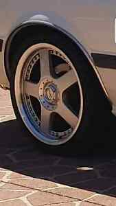 Alloy wheels 4x114.3 starcorps 17inch Georges Hall Bankstown Area Preview