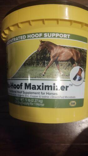 RICHDEL Nu-Hoof Maximizer Hoof & Coat Support for Horses, 5 lb