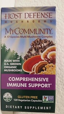 Host Defense Mushrooms Comprehensive Immune Support 120 Vegetarian Capsules