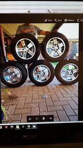 """15"""" Ford mags and tyres all new Balaklava Wakefield Area Preview"""
