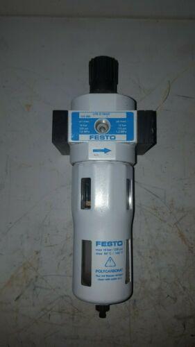 Festo Filter Regulator, 175-230PSI, LFR-D-MAXI, 124 085
