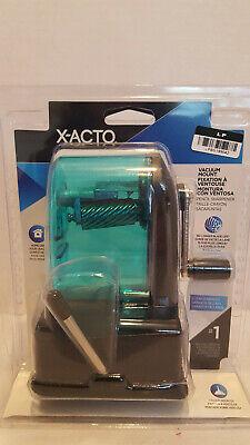X-acto Vacuum Mount Pencil Sharpener Blueblack