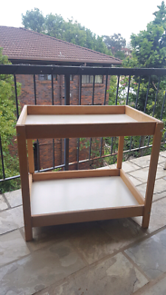 Stand table trolley tray