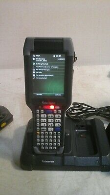 Intermec Ck3a1 Computer Barcode Scanner With Dock Charger