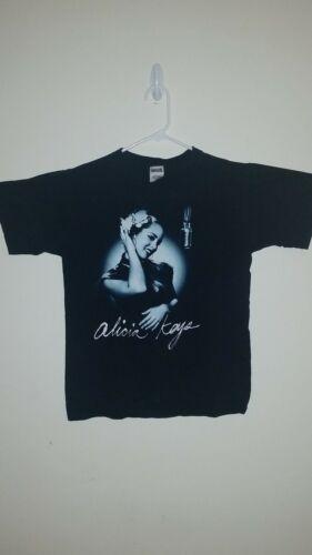 RARE Alicia Keys Diary 2005 Tour Sz S Shirt  K12