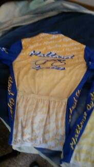 Two cycling jerseys one xlg  one lg  pre owned Traralgon Latrobe Valley Preview