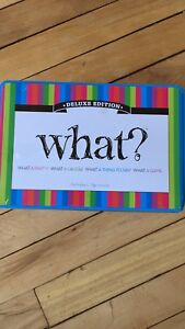 What? Board game