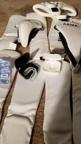 2 taekwondo bags with equipment kids